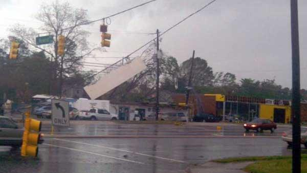 Tornadoes damage much of NC