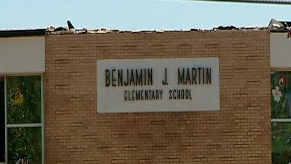 Students return to tornado damaged school