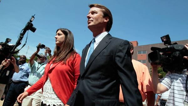 John Edwards indicted on six charges