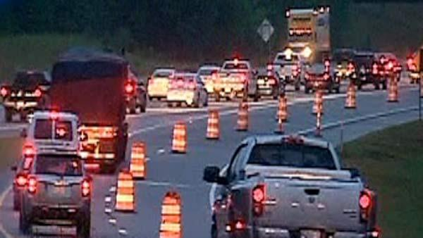 Traffic Alert: Pattern shifts on I-40