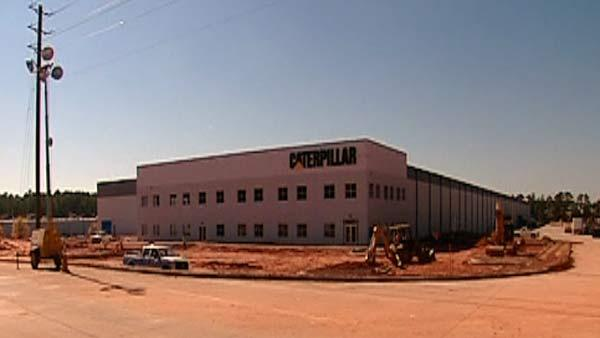 Sanford debuts new Caterpillar plant