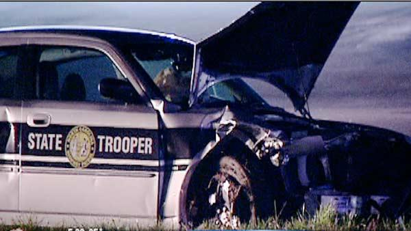 Highway Patrol: Speed not a factor in trooper crash