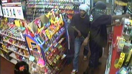 Detectives with the Fayetteville Police Department are trying to identify two suspects from a  Exxon Convenience Store robbery Thursday.