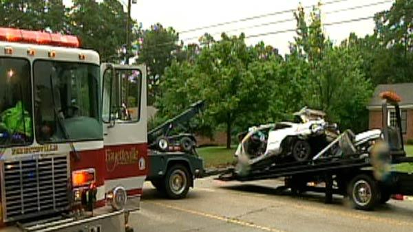 Two killed in Fayetteville traffic accident