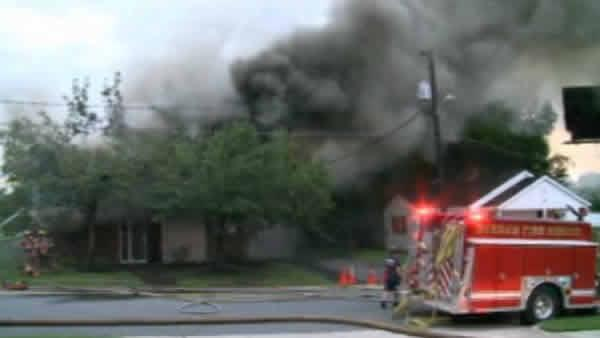 Fire engulfs Boys and Girls Club
