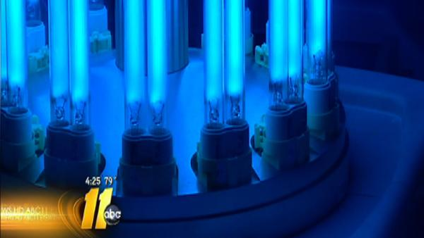 Duke Medical Center uses UV light to kill bacteria