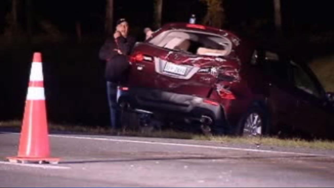 Multi-car crash shuts down I-95 in Halifax County