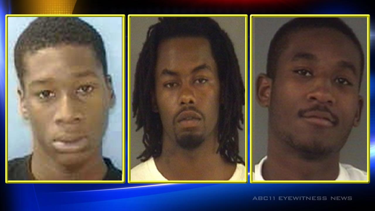 Three charged in Wilson murder