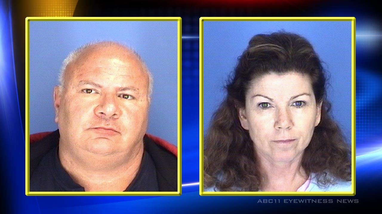 David Gariano and Diane Hall <span class=meta>(Photo courtesy of the Burlington Police Department)</span>