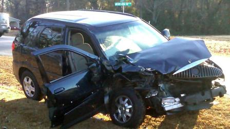 Authorities are investigating a head-on collision that happened Thursday morning in Clayton.