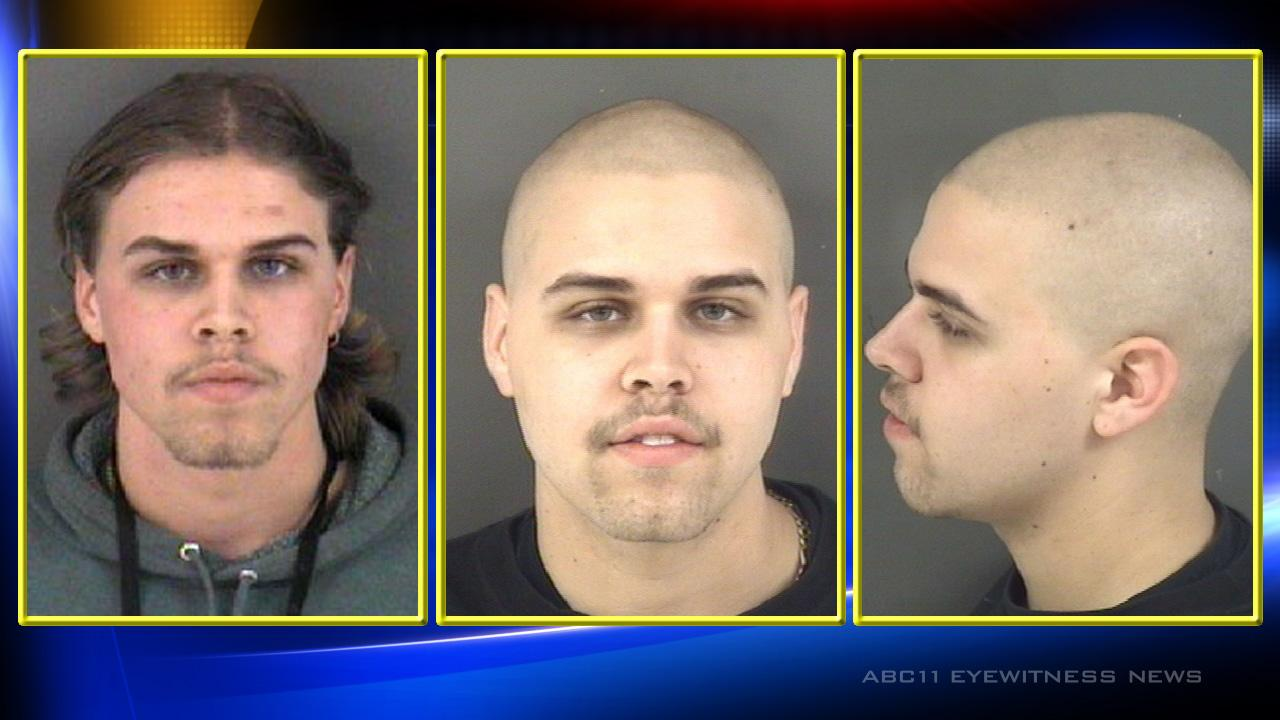 Christopher Dean Gilbert (seen with both long and short hair) <span class=meta>(Images courtesy Fayetteville Police Department)</span>