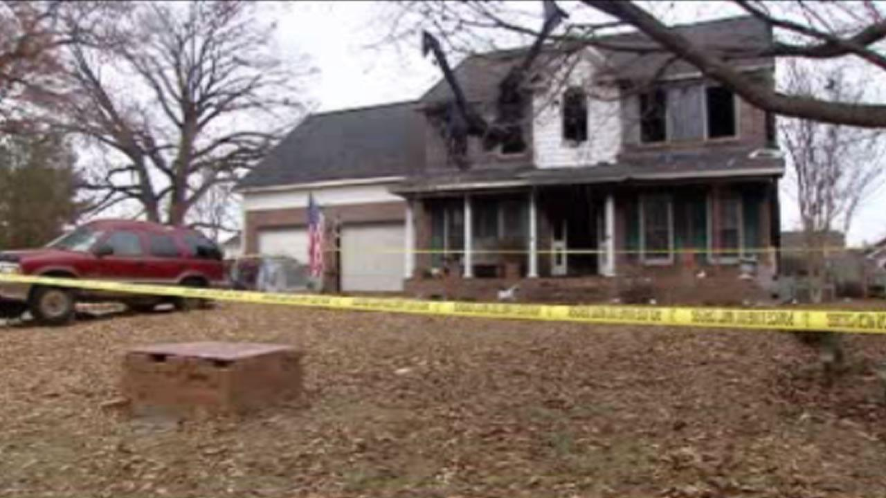 Officials said 53-year-old Scott Wayne Sturzebecker was killed in the fire at a home on Derbyshire Road.