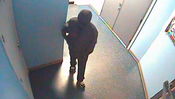 Fayetteville police are trying to identify a man involved in a robbery at the Crazy Sweepstakes Dec. 8, 2012.