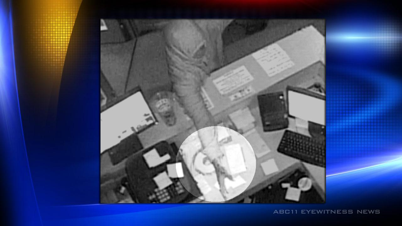 Fayetteville police are trying to identify a man involved in a robbery at the Crazy Sweepstakes Dec. 8, 2012. <span class=meta>(Photo courtesy of the Fayetteville Police Department)</span>