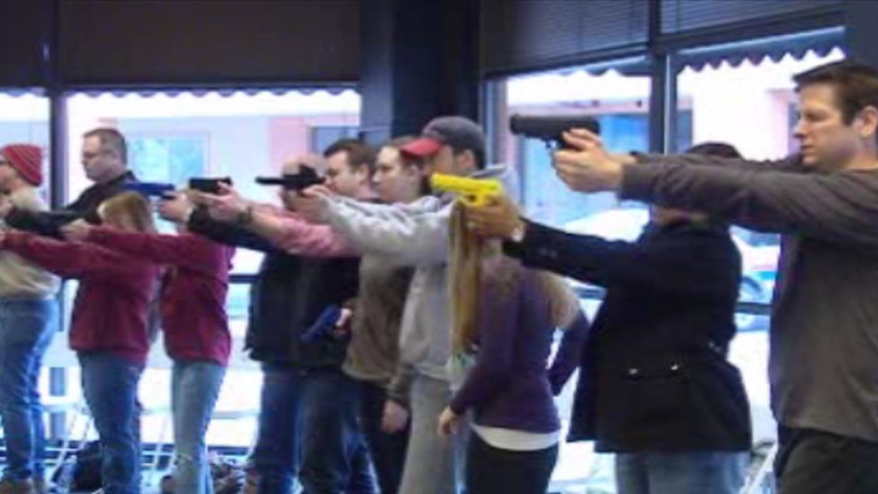 Teachers around the Triangle filled the free course as a chance to obtain their concealed carry permit