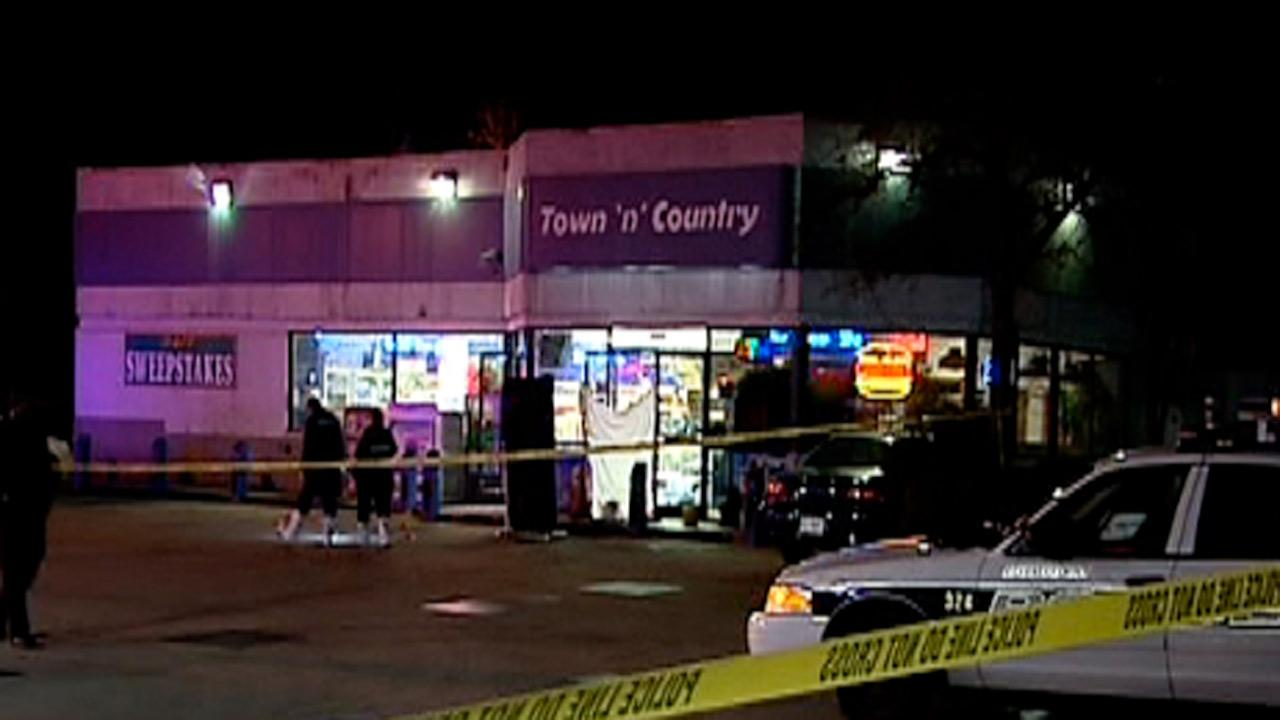 Durham police are investigating an overnight fatal shooting at the Town-N-Country convenience store in the 3100 block of University Drive.