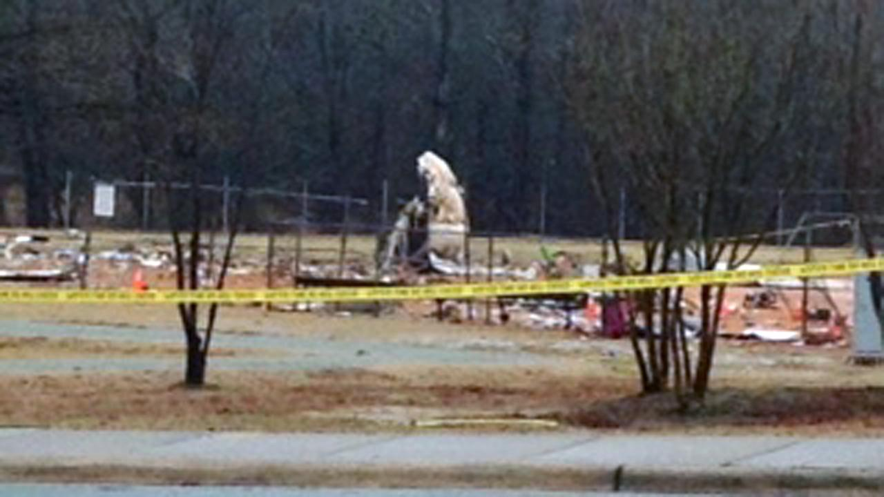 Aircraft went down into ball field at community center near Burlington-Alamance Regional Airport Wednesday morning