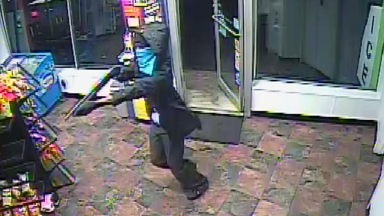 Authorities in Durham are asking for the publics help in identifying two suspects in connection with an armed robbery at the Speed EEZ convenience store just before 7:30 p.m. Monday. <span class=meta>(Photo courtesy of Durham County Office of the Sheriff)</span>