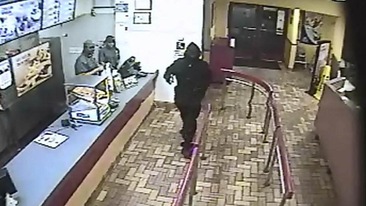Authorities in Carrboro are trying to identify four suspects involved in a robbery at a Burger King Tuesday night.Carrboro Police Department