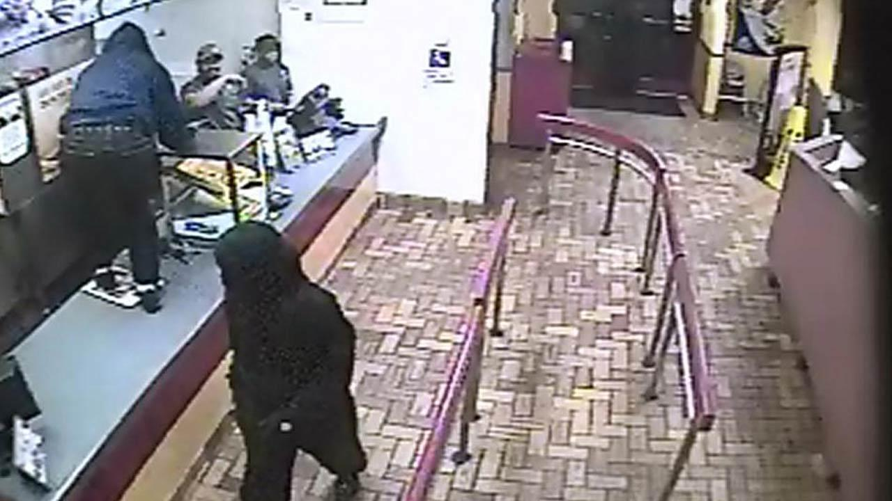 Authorities in Carrboro are trying to identify four suspects involved in a robbery at a Burger King Tuesday night. <span class=meta>(Carrboro Police Department)</span>