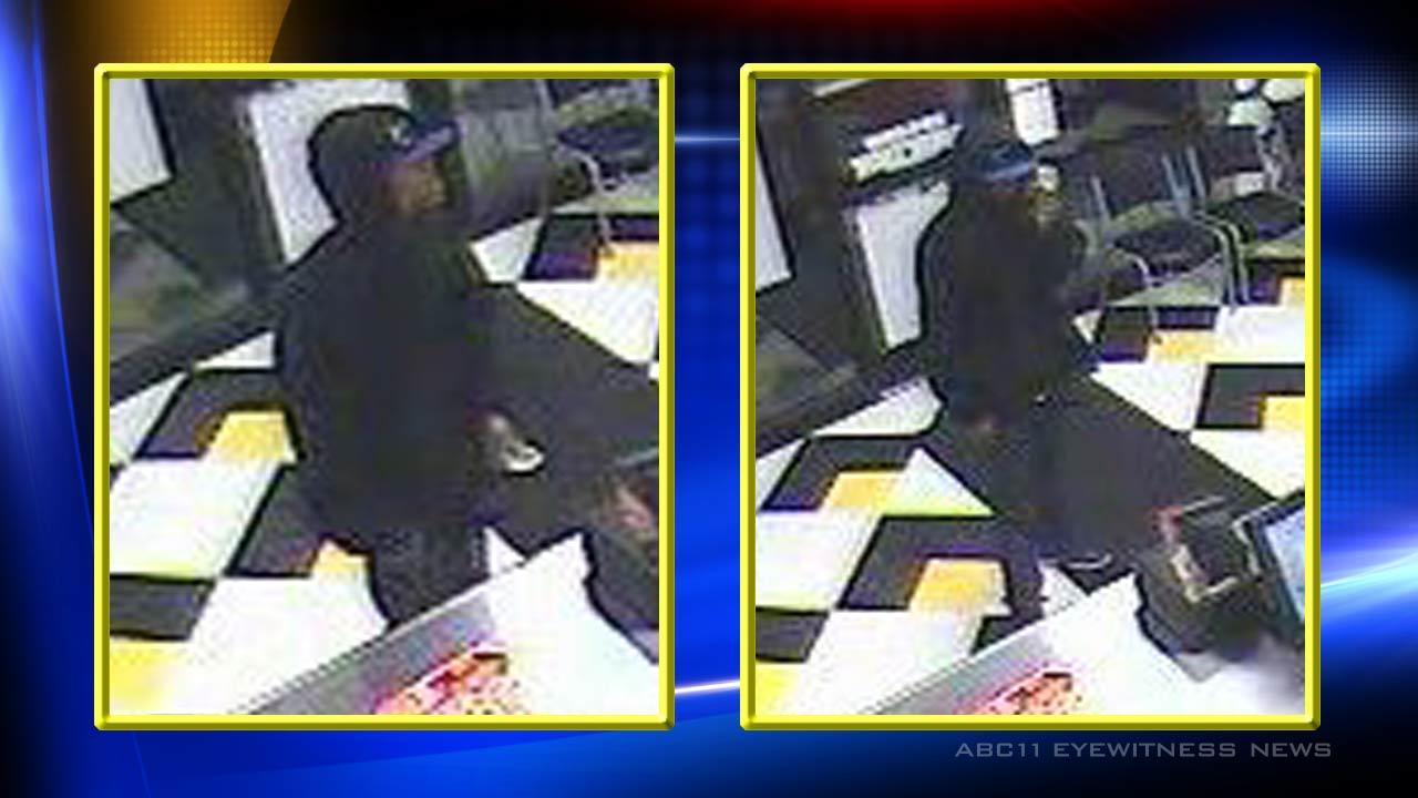 On Feb. 6, the Little Caesars on Raeford Road in Fayetteville was robbed just before 8:30 p.m. <span class=meta>(Photo courtesy of Fayetteville Police Department)</span>