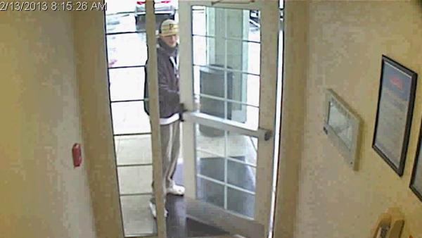 Authorities in Fayetteville are trying to identify a suspect