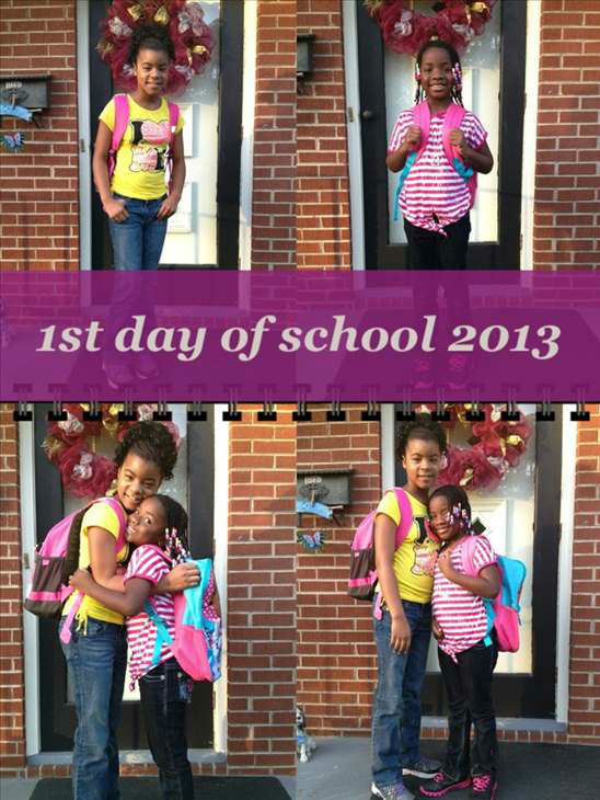 Back to school photo submitted to uReport. <span class=meta>(WTVD)</span>