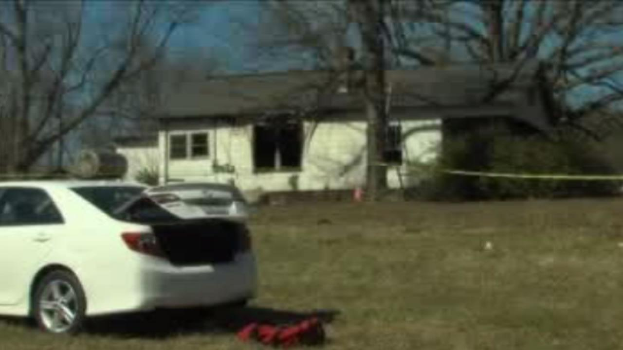 A Saturday morning fire in Guilford County killed two young children.