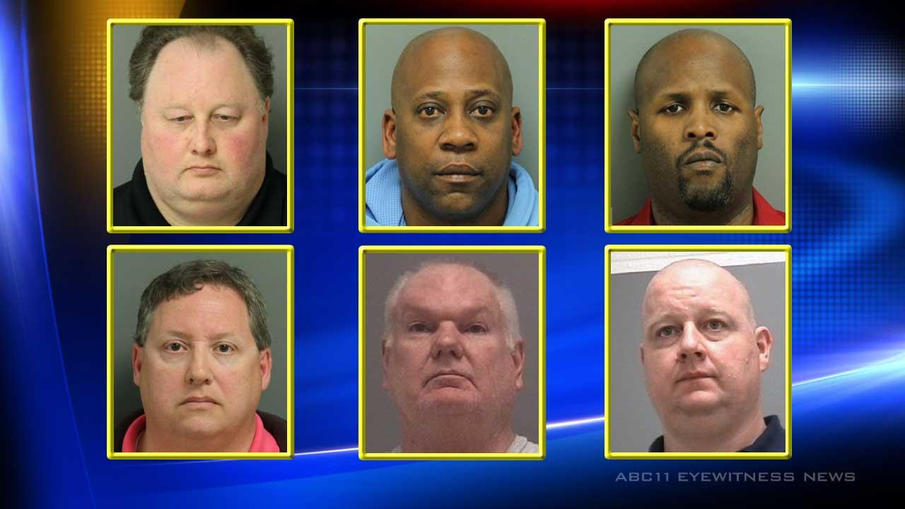 A Wake Forest Police Department spokesperson said Gregory Paul Raymer, 48, was one of six men who responded to an advertisement posted by undercover police on a website often used by prostitutes. <span class=meta>(Image Wake Forest Police Department)</span>