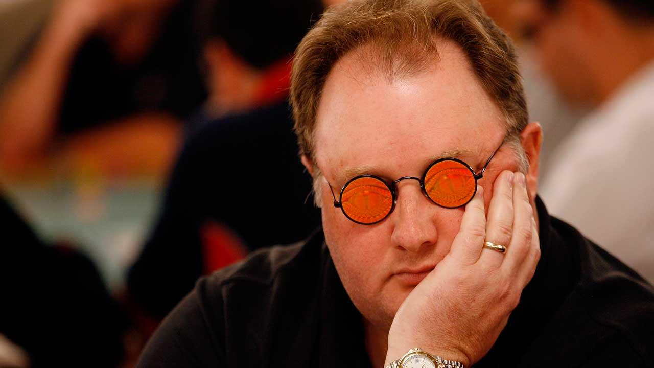 Greg Raymer plays in the World Series of Poker at the Rio All-Suite Hotel and Casino in Las Vegas, on Sunday, July 30, 2006.AP Photo/Isaac Brekken