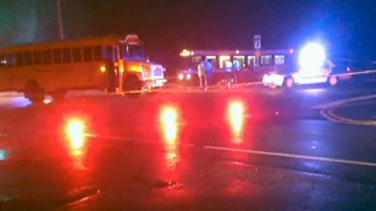 An accident involving a Wake County school bus has closed all lanes of NC 54/Chapel Hill Road in both directions at Edwards Mill Road.