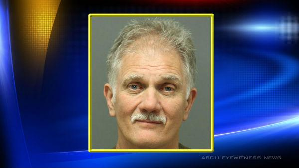 Douglas Ryder, 66, charged with 2nd-degree trespassing and failure to disperse on command.