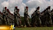 Over 19,000 paratroopers at Fort Bragg participated in the 82nd Airborne Divisions All American Week Division review Thursday