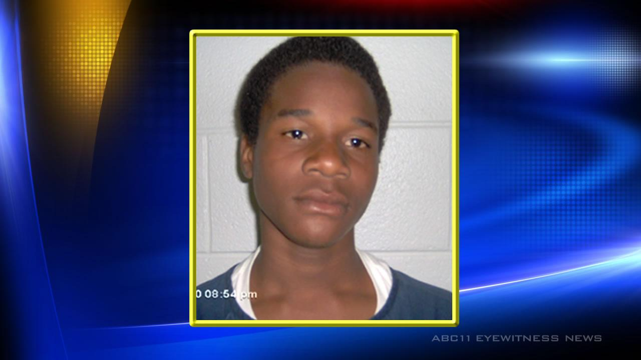 Durham County officials report that a juvenile named Darren D. has escaped from the Durham County Youth Home