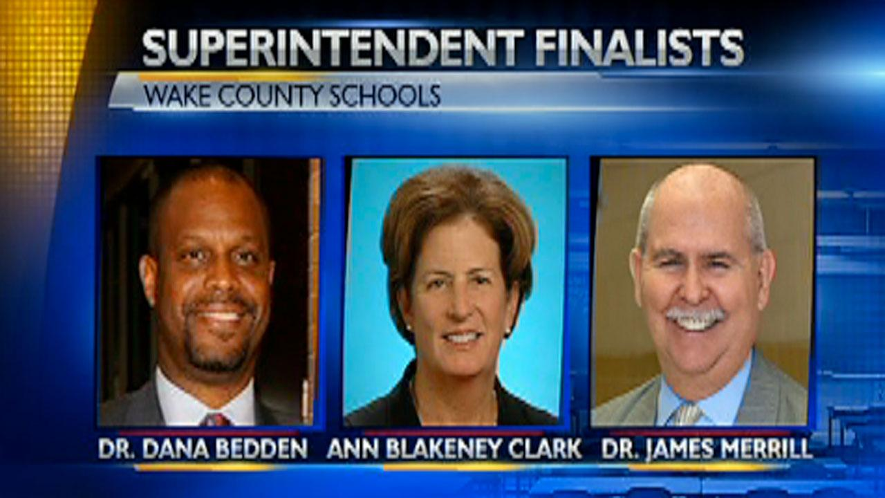 Finalists for Wake County Schools superintendent meet with parents