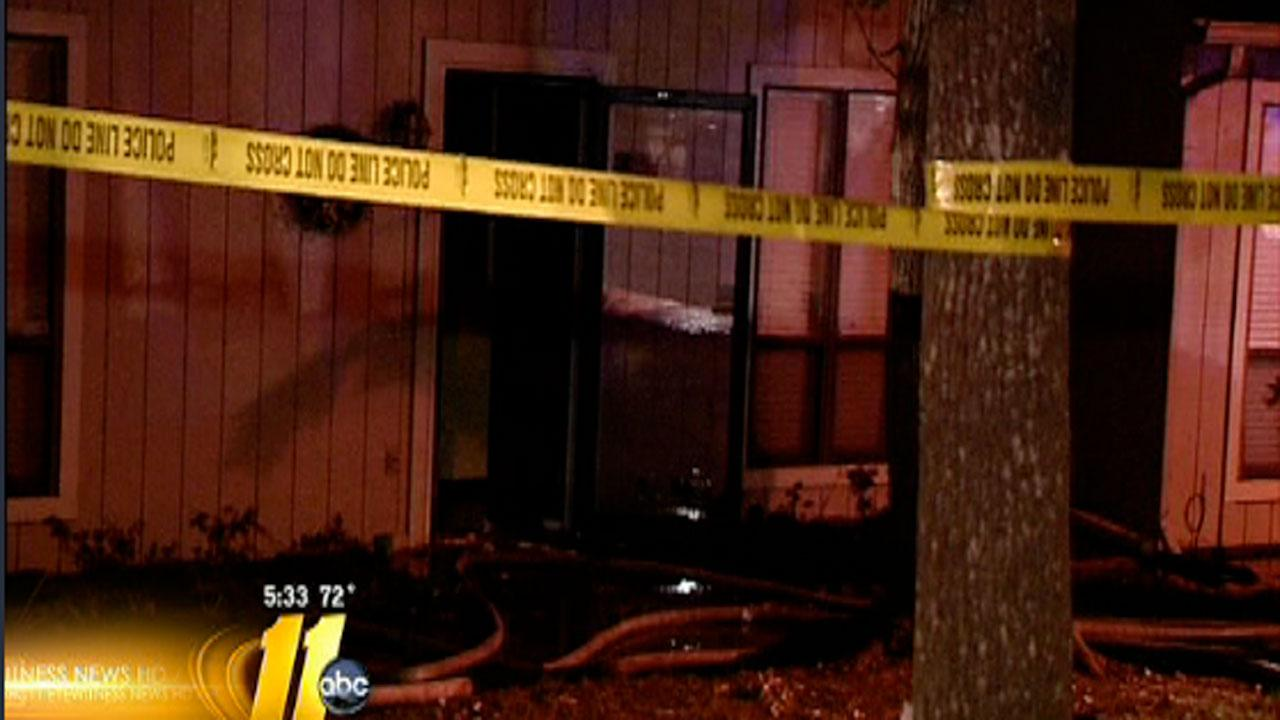 Three families in Cary are looking for new places to stay after a fire damaged their apartments Sunday night.
