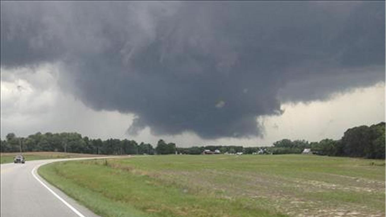 This UReport photo was taken at the intersection of 401 and 96 in YoungsvilleABC11 UReport