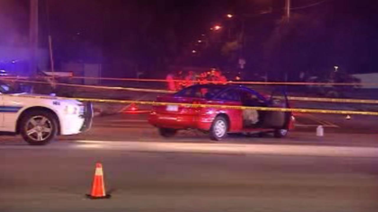 A motorcyclist was killed Friday night after his bike collided with a car in Fayetteville, according to police.
