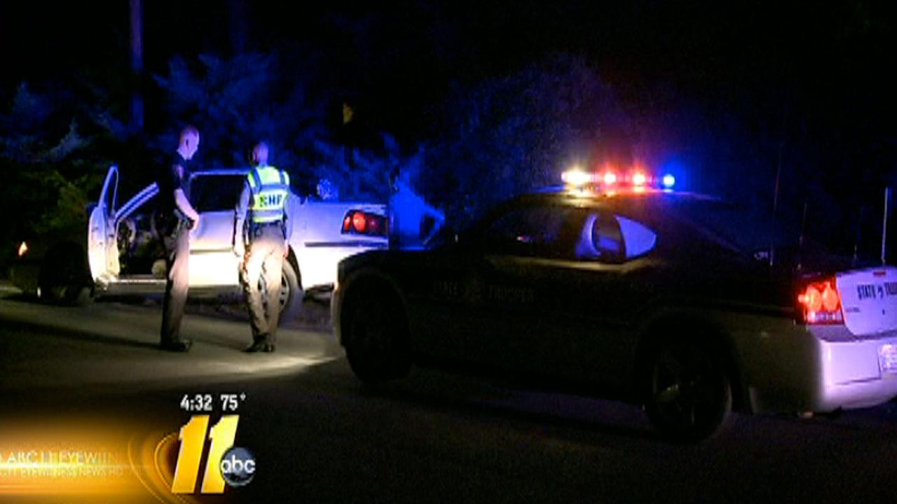 Officials say a high speed chase in Durham started Thursday night when the Highway Patrol was doing license checks and a driver tried to avoid the checkpoint.