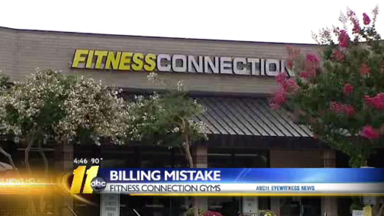 A Fitness Connection gym in Raleigh