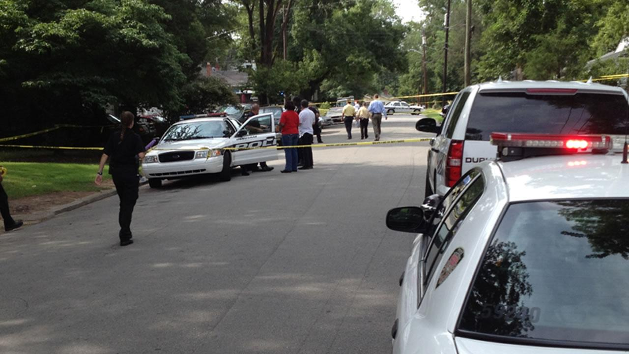 The shooting happened on Park Avenue near Holloway Street.