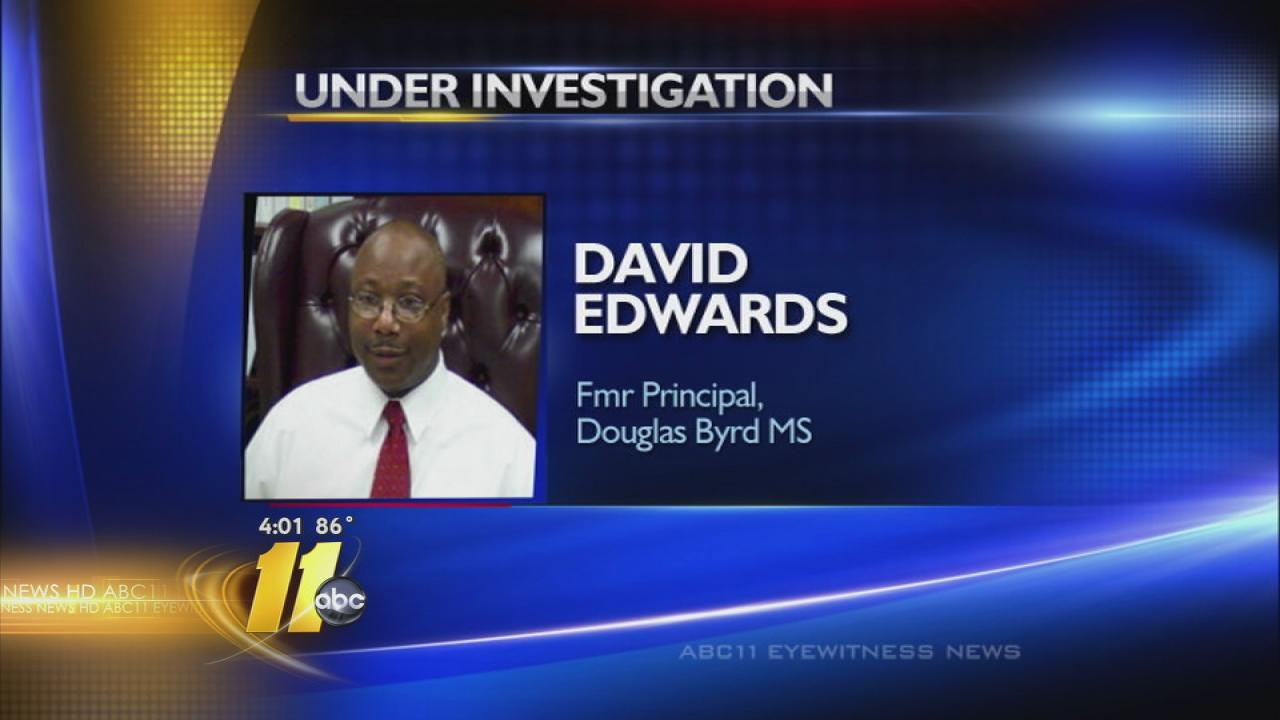 David Edwards principal resigns
