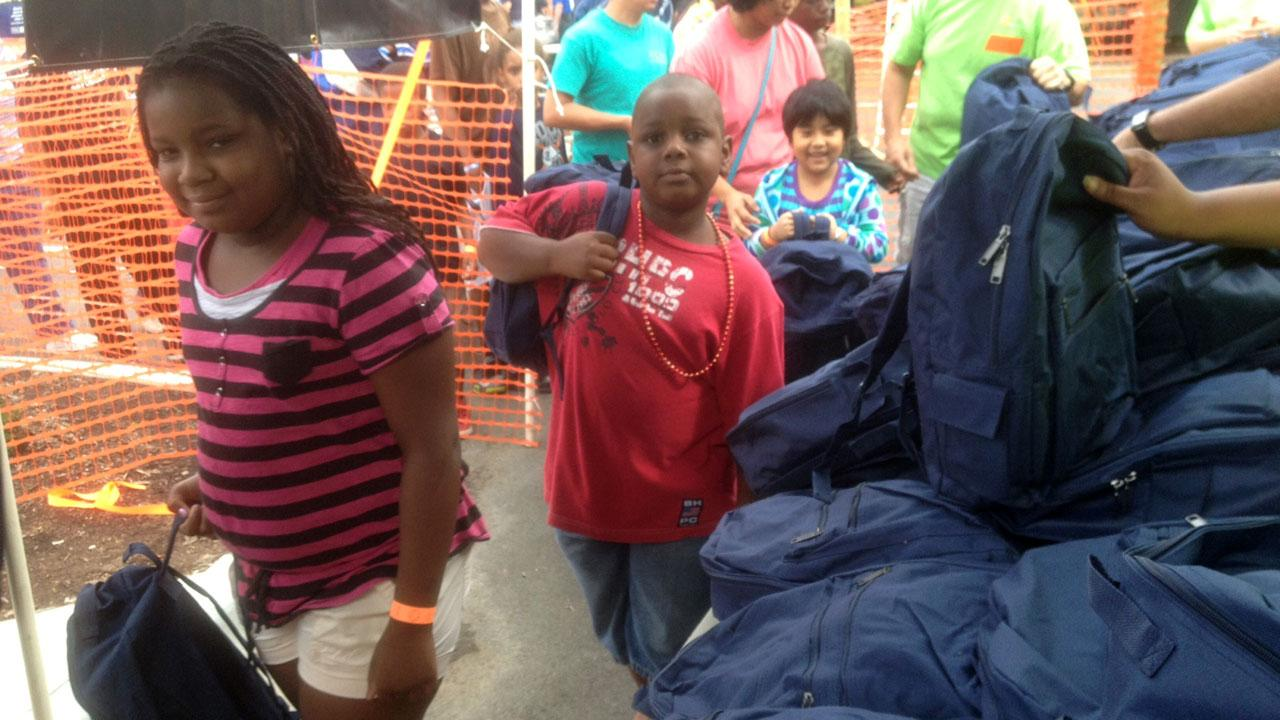 Durham Rescue Mission giving away free school supplies
