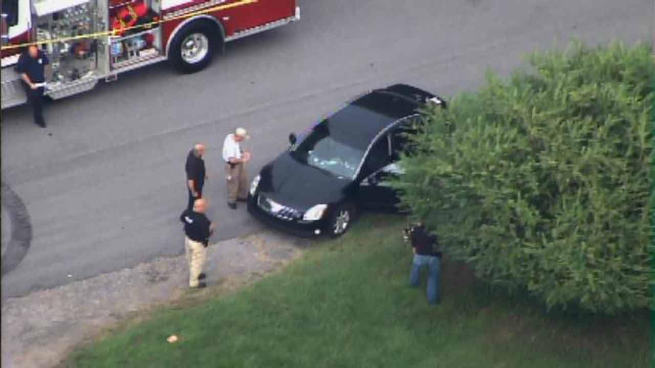 Chopper 11 HD over a police-involved shooting in Butner.