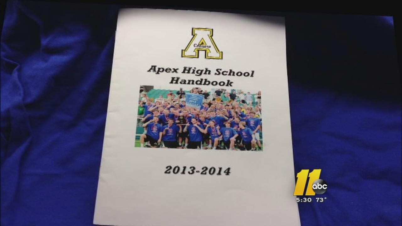 Apex High School pamphlet