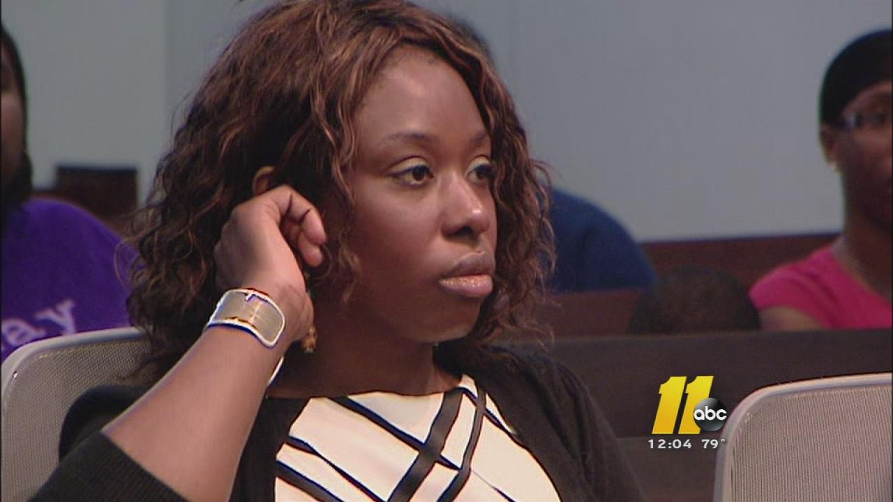 Crystal Mangum in court