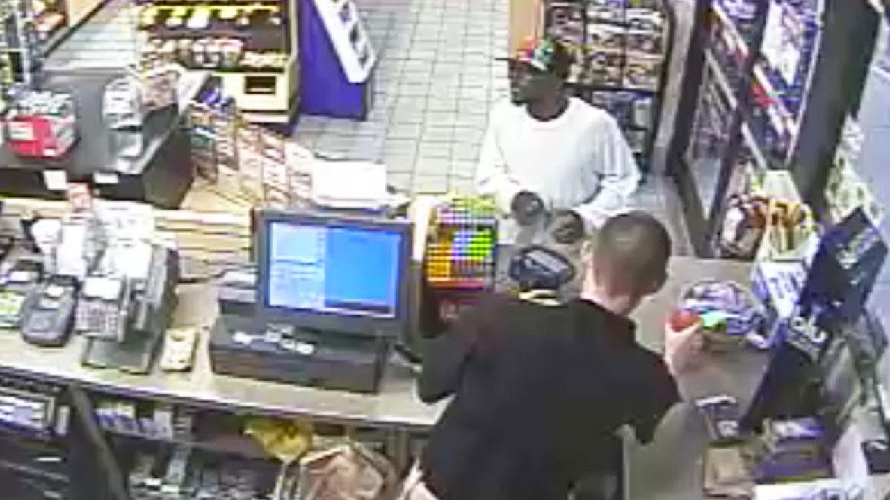 Authorities in Fayetteville are searching for a suspect in connection with an armed robbery at a Kangaroo convenience store on Murphy Road early Tuesday.Cumberland County Sheriff's Office