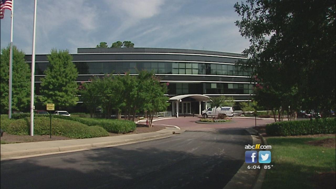 NC FAST wanted to relocate to this  building in Cary.