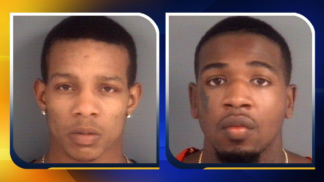 Joseph Haskins and Kourtney Reed <span class=meta>(Photos courtesy of the Fayetteville Police Department)</span>