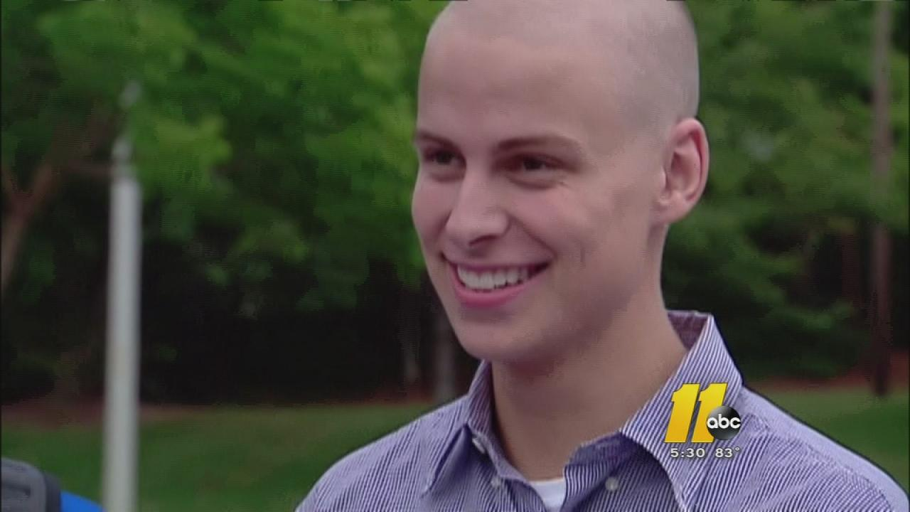 Coby Weston is a student at Athens Drive and was recently diagnosed with Hodgkin lymphoma